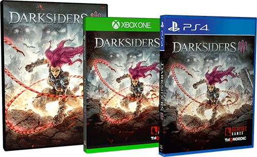 Boxshot Darksiders III Deluxe Edition (digital)